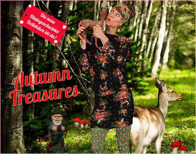 Blutsgeschwister Kollektion Autumn Treasures