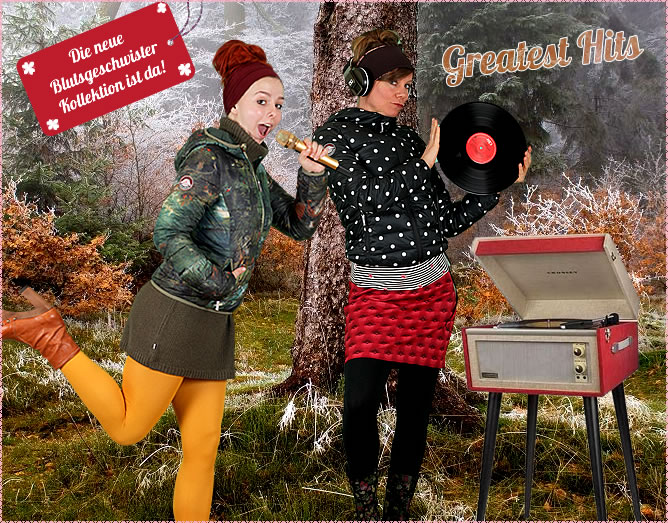 Neue Blutsgeschwister-Winter-Kollektion
