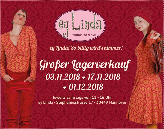 Neues von Cream, Noa Noa und Die lieben Lieschen/ Lagerverkauf am 17.11. und 1.12./ Öffnungszeiten Advents-Samstage
