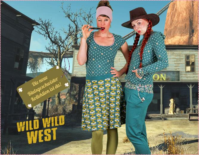 Teil 2 der neuen Blutsgeschwister-Kollektion Wild Wild West