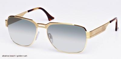Sonnenbrille, Albatros Beach, golden rush