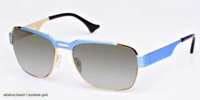 Sonnenbrille, Albatros Beach, poolside gold