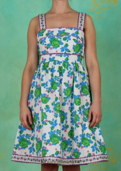 Kleid, bandroba, primavera rose