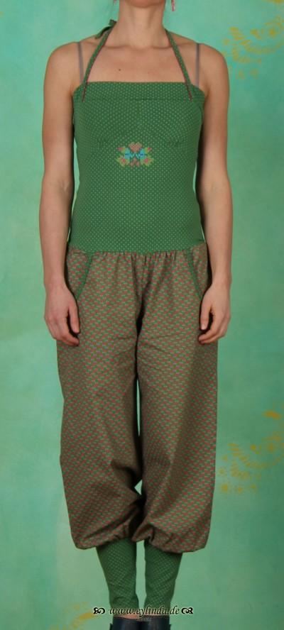 Hose, pumpsuit pants, aztek bloom