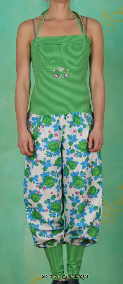 Hose, pumpsuit pants, primavera rose