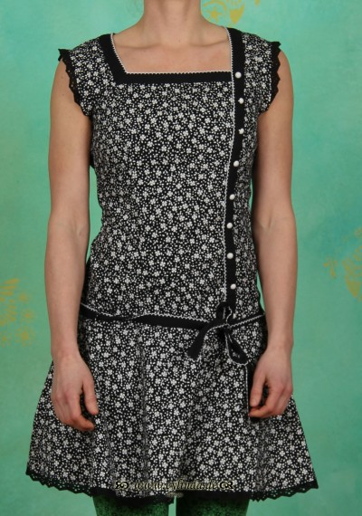 Kleid, tennis matrosendress, night clover