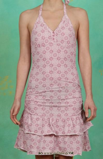 Kleid, nackenkuss rüschendress, summer lace