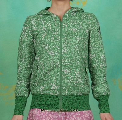 Jacke, windrosen jacket, jade garden