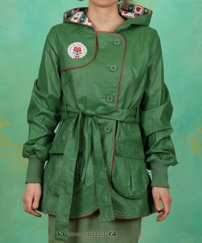 Regenmantel, parkschauer jacket, meadow green