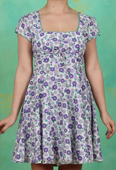 Kleid, tanztee carré, seeveilchenteich