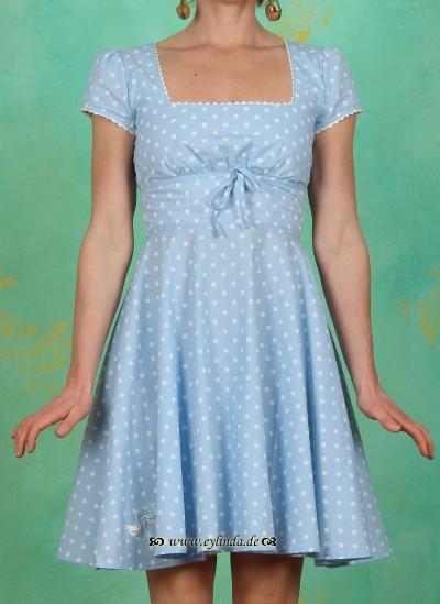 Kleid, tanztee carré, tupfkuchen