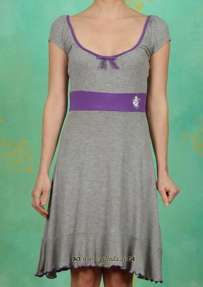 Kleid, foxtrott dress, graumelange