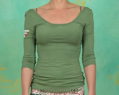 Shirt, schneidaus shirt, meadow green