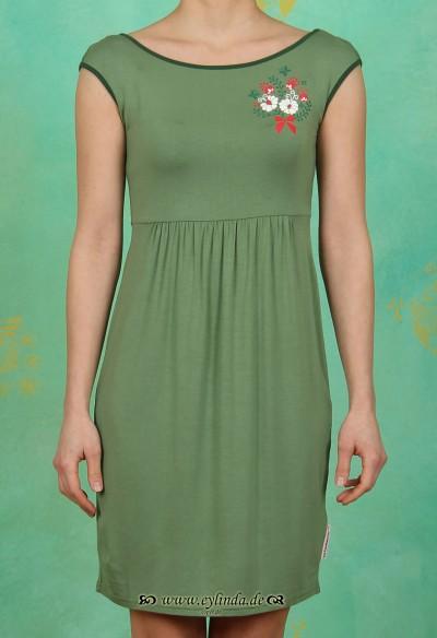 Kleid, rückenreih frock, meadow green