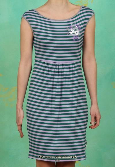 Kleid, rückenreih frock, sommerringel