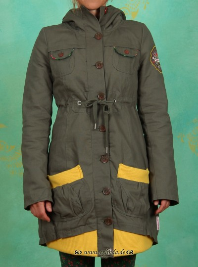 Parka, Long Haul Parka, puszta green