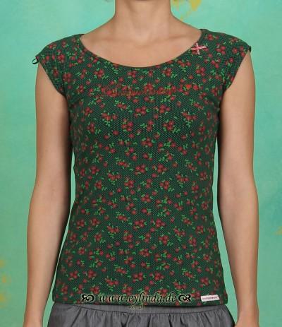 Shirt, Granny Carmen, polka flower