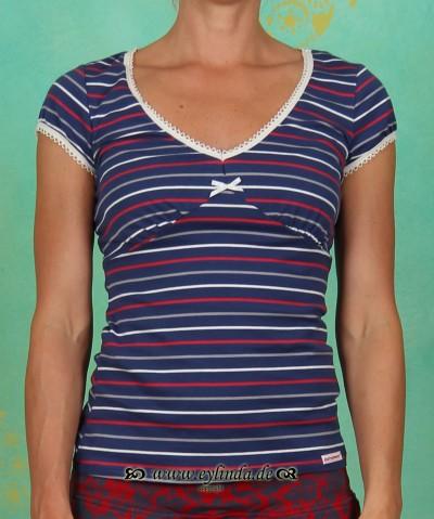 Shirt, V von Welt, nordic stripes