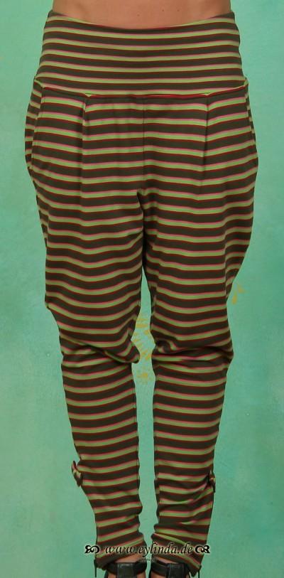 Hose, Schmittchen Schleichpants, gipsy stripes