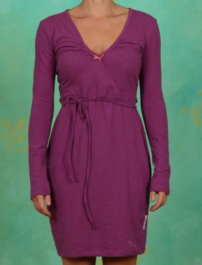 Kleid, Wireless Wickel, purple melange