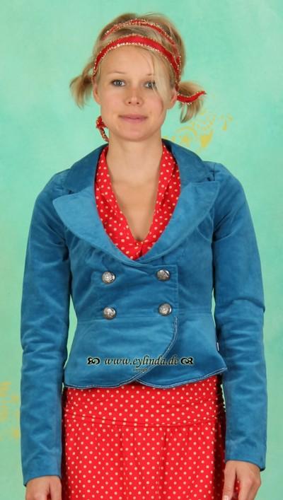 Blazer, Sehr-Verehrt Blazer, antique-blue