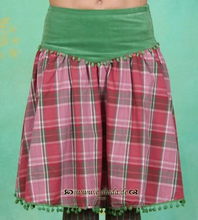 Rock, Glamourama Skirt, candy's-checkers