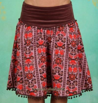 Rock, Glamourama Skirt, opulent-tapestry