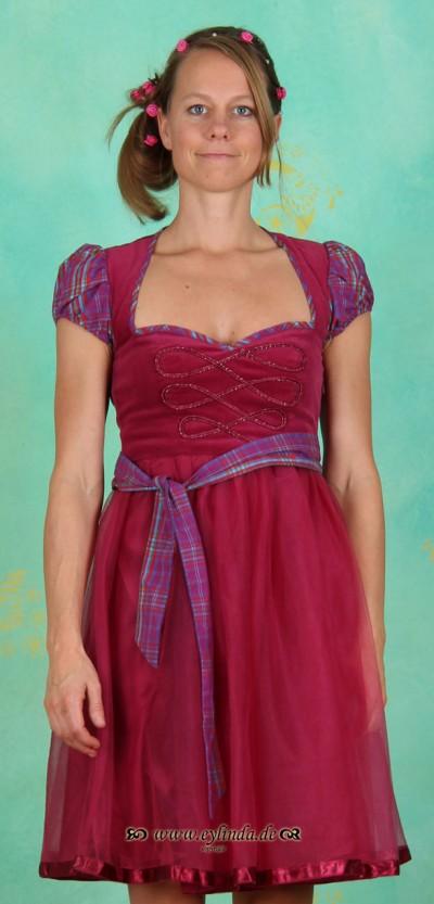 Kleid, Manegenherz Dress, berry-bordeaux