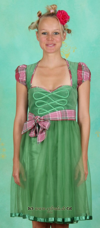 Kleid, Manegenherz Dress, tender-green
