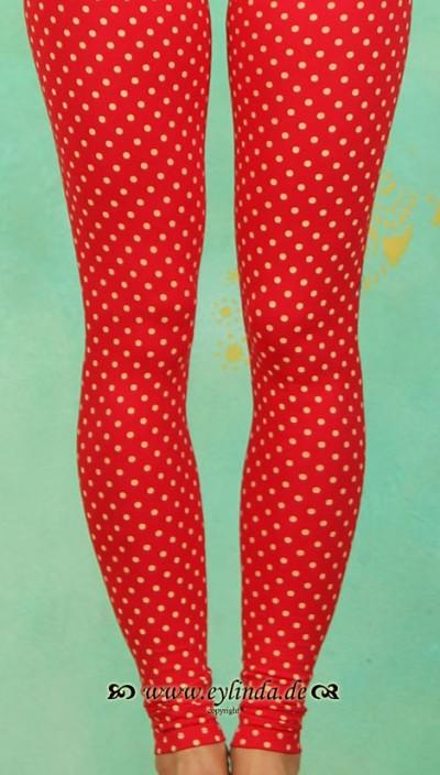 Leggins, Seduction Rompers, circus-dots