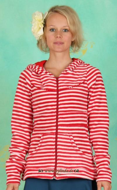 Zipper, Gerti's Troddelzip, circus-stripes-fleece