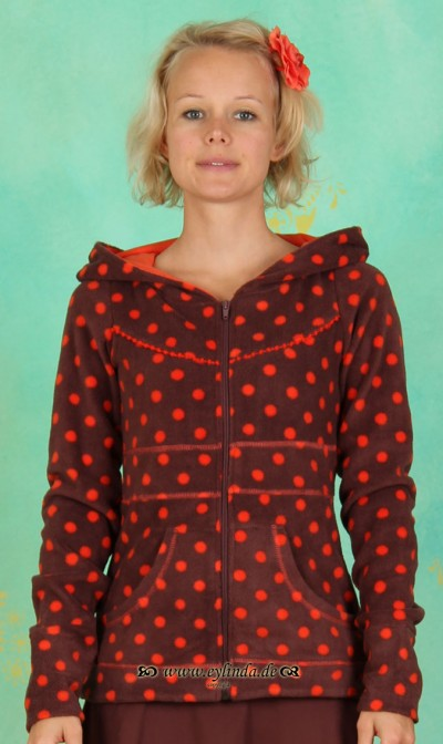Zipper, Gerti's Troddelzip, entertaining-dots-fleece
