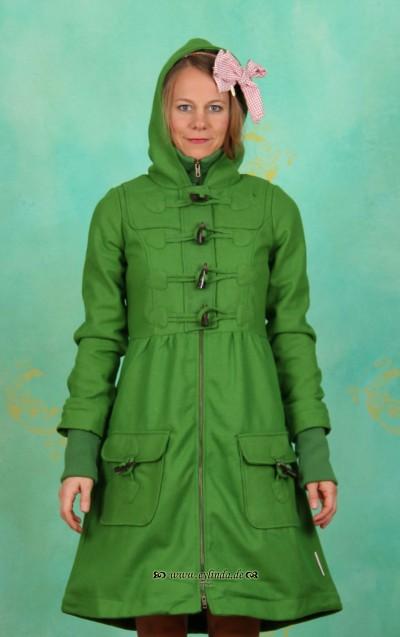 Mantel, Tyrolean Duffle, hunters-green
