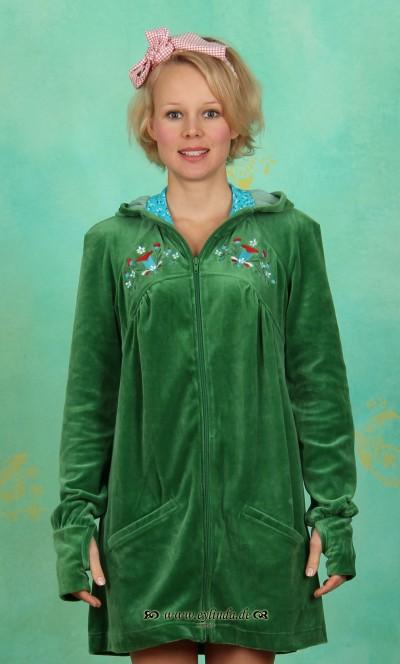 Zipper, Slideride Longzip, velvet-green