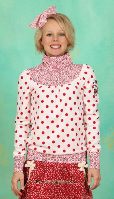 Longshirt, Willhelmine Turtell, dolce-vita-dots