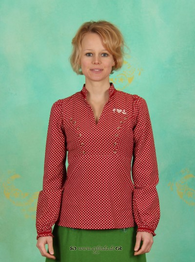 Bluse, Cabose Blouse, fiorddots