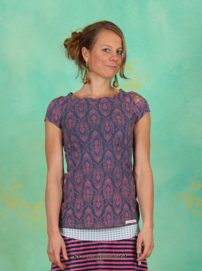 T-Shirt, Mad Woman Tee, saloony-tapestry
