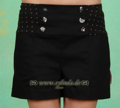 Shorts, Hot Marlene Pants, black-biedermann-twill