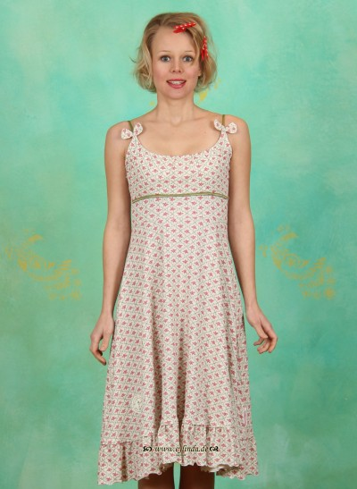 Kleid, Mariandl' geh rund!, floral-tiles