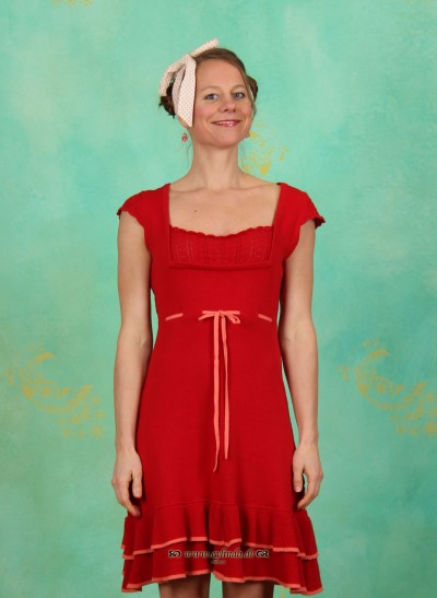 Kleid, Last Waltz Chemise, dolce-cherry-knit
