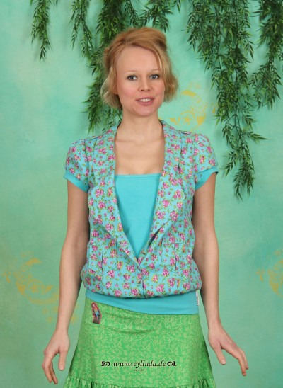 Bluse, Heia Safari Blouse, heavenly-flowerbed