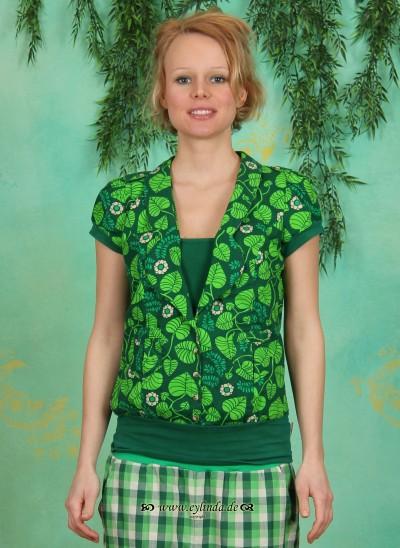 Bluse, Heia Safari Blouse, shady-foliage