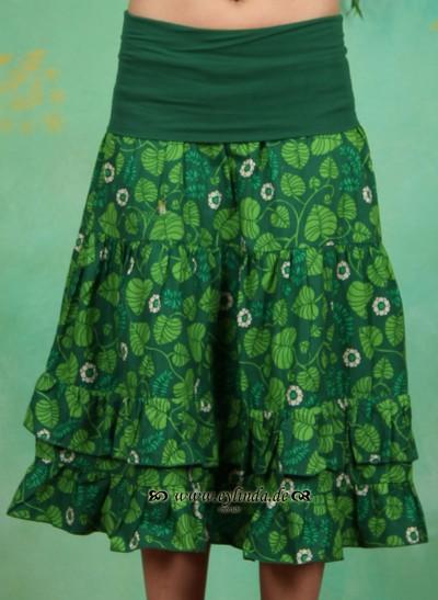 Rock, Romantic Botanic Skirt, shady-foliage
