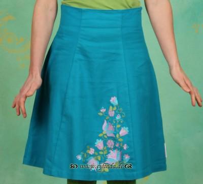 Rock, Orchid Skirt, blue-heaven-pique