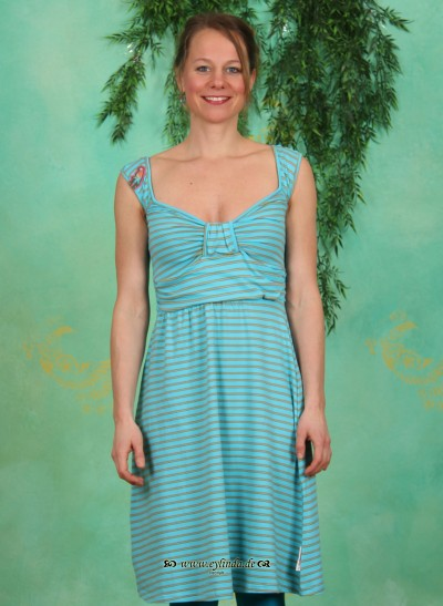 Kleid, Draparella Dress, paradise-stripes