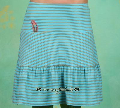 Rock, Lucky Rotella Skirt, paradise-stripes