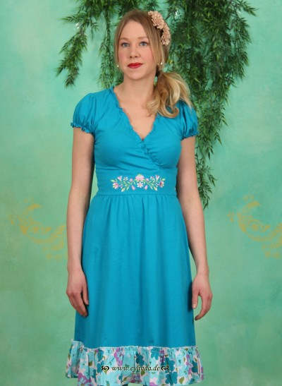 Kleid, Wildwuchs Cache Dress, blue-heaven