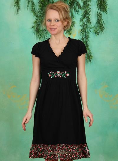 Kleid, Wildwuchs Cache Dress, deep-night