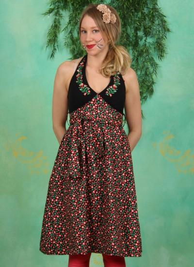 Kleid, Jungle Lolita Robe, flower-bed