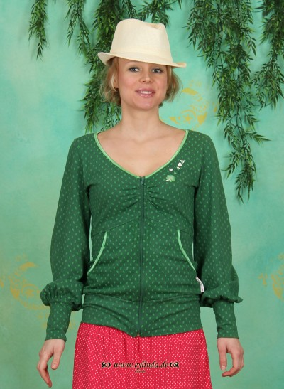 Zipper, Tsetse Zip, verdant-leaves